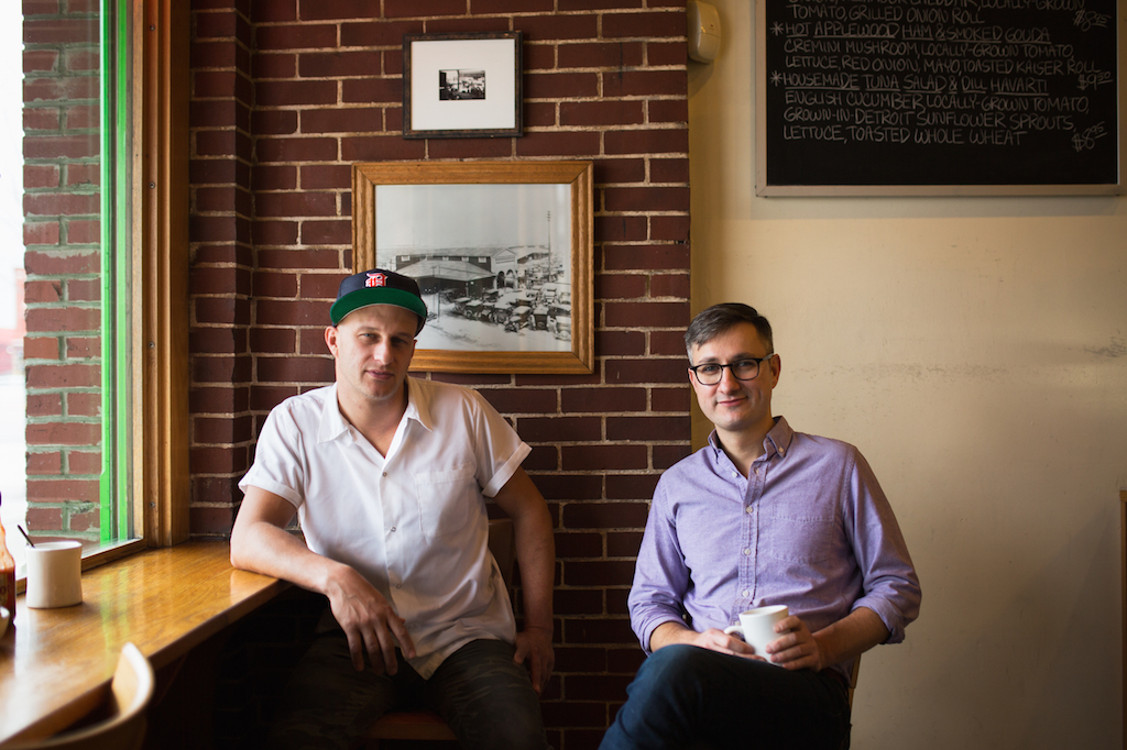 Ben Hall and Jason Murphy at the Russell Street Deli