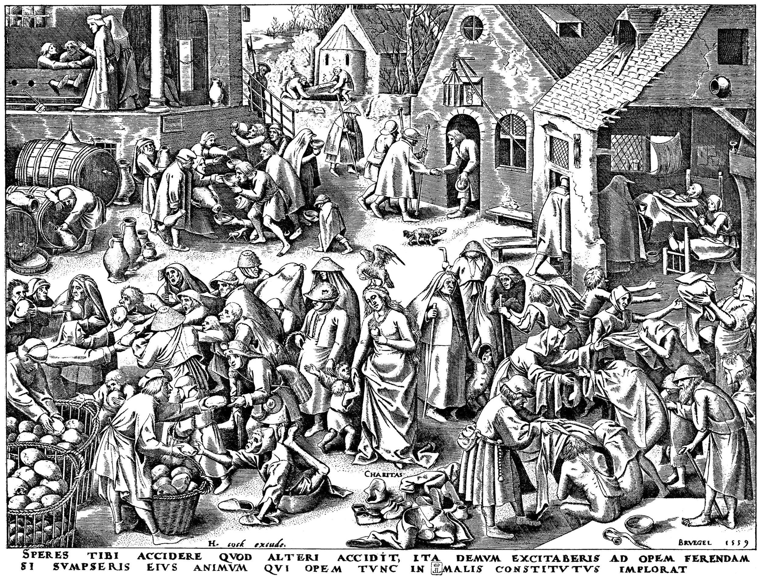 Pieter Bruegel   1556-1560