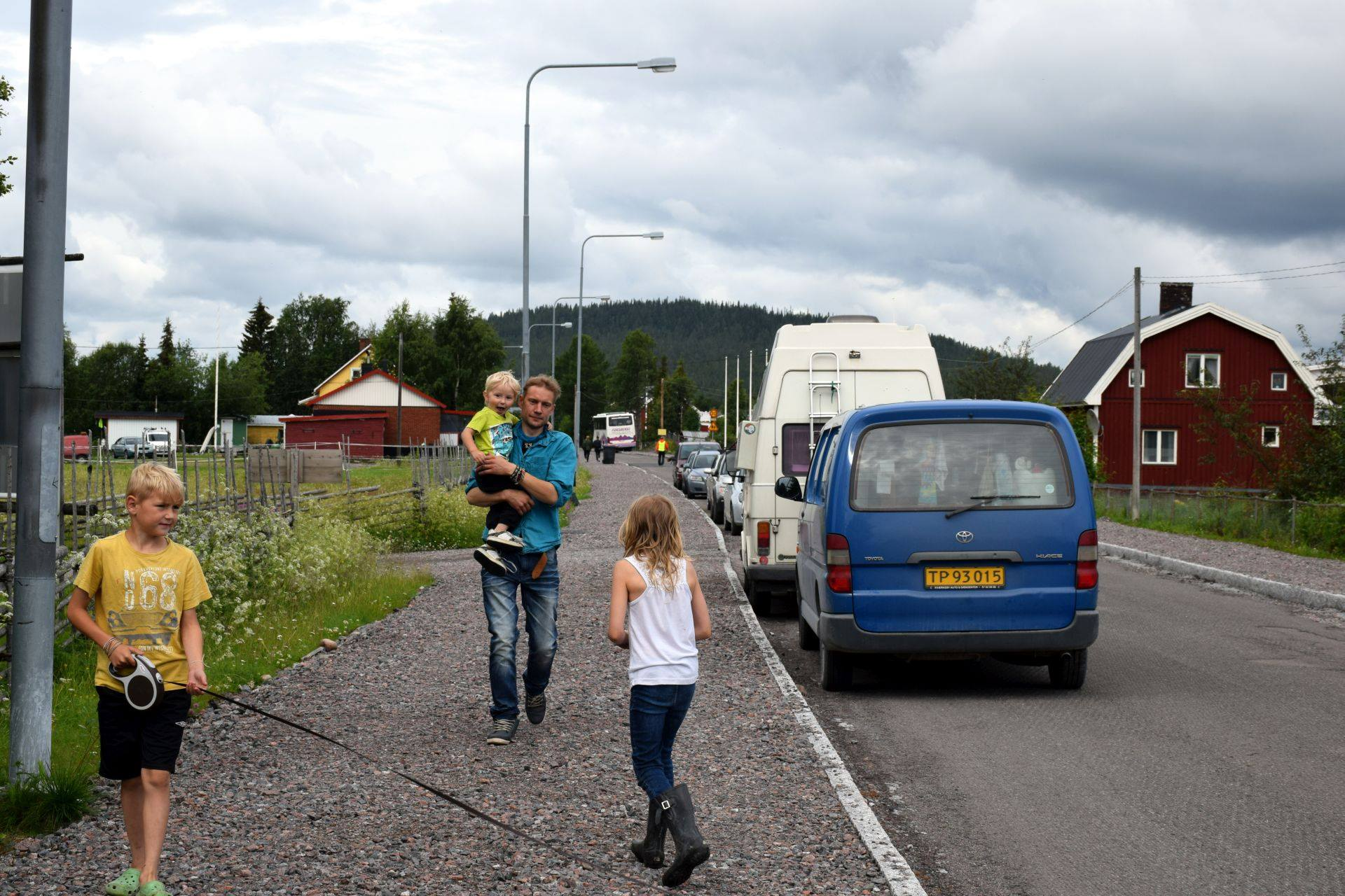 Juha and his children