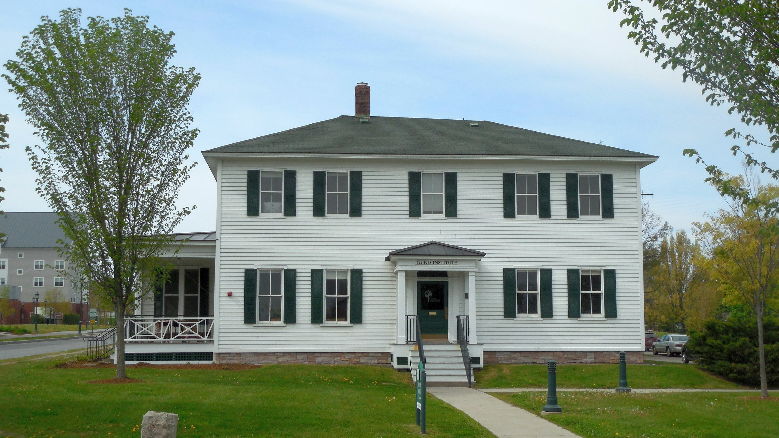 Johnson House at UVM, Home of the Gund Institute for Ecological Economics