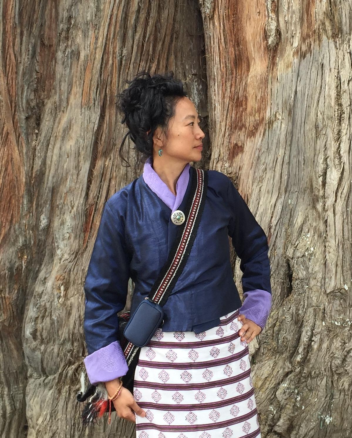Julia in Bhutan