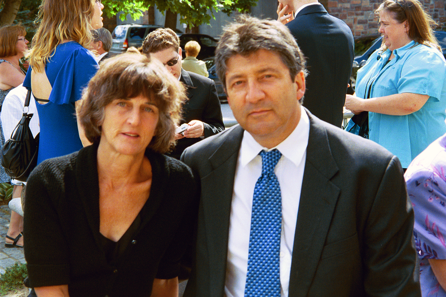 Eric and his wife, novelist Kathryn Davis