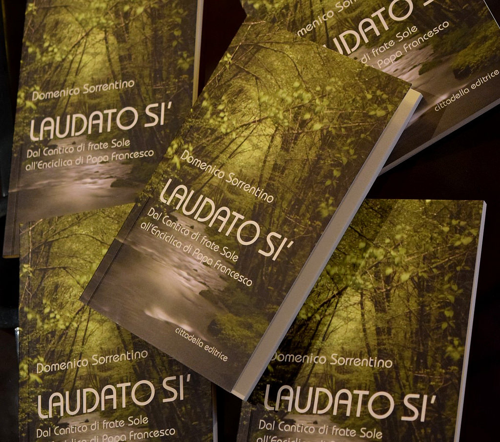 Laudato Si, On Care for Our Common Home, Pope Francis' 2015 184-page encyclical
