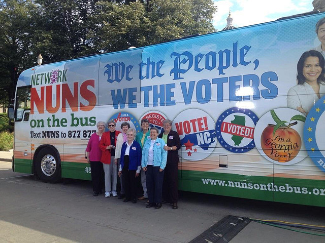 Nuns on the Bus Tour, September 2014