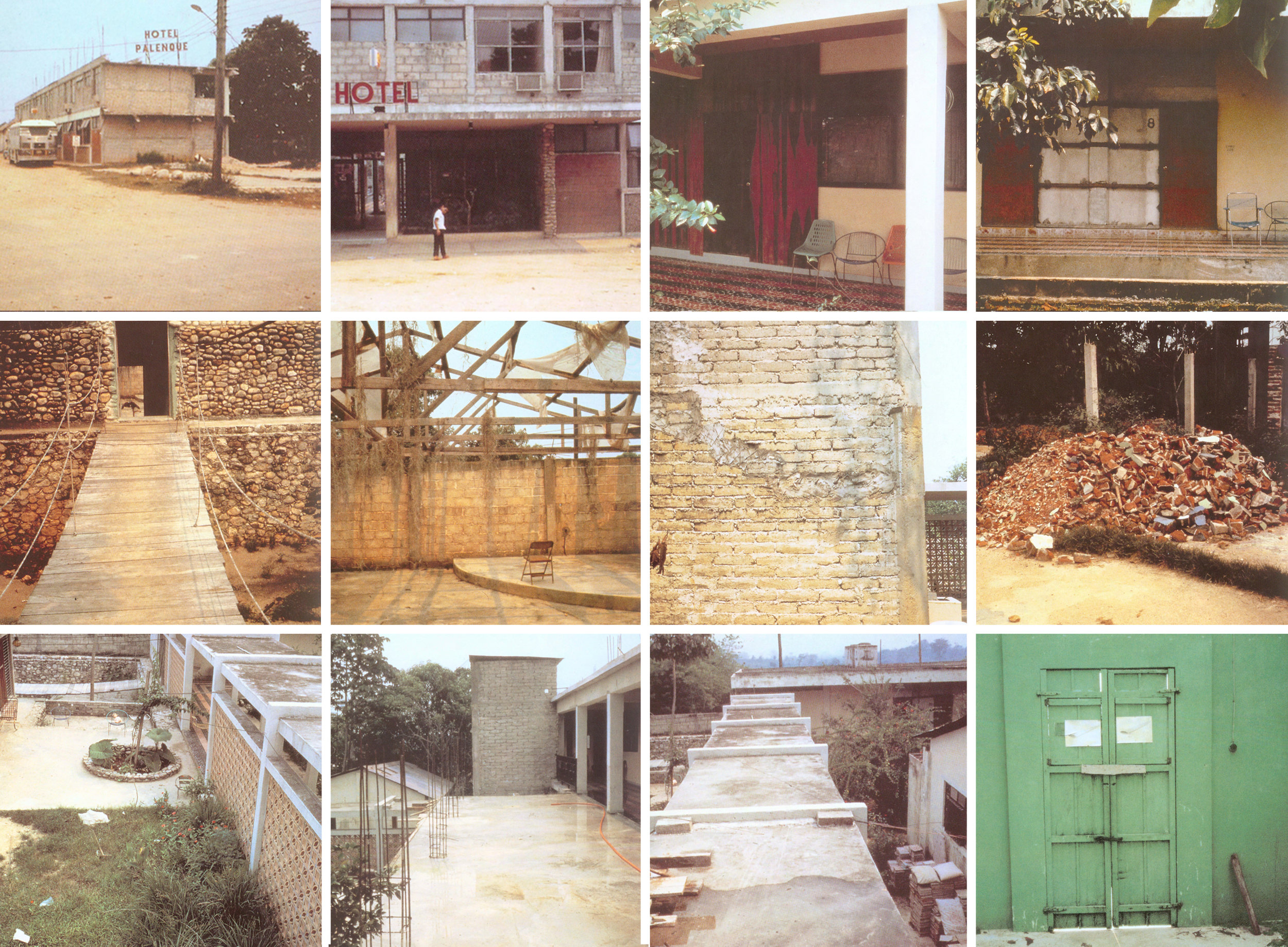 Robert Smithson  Hotel Palenque