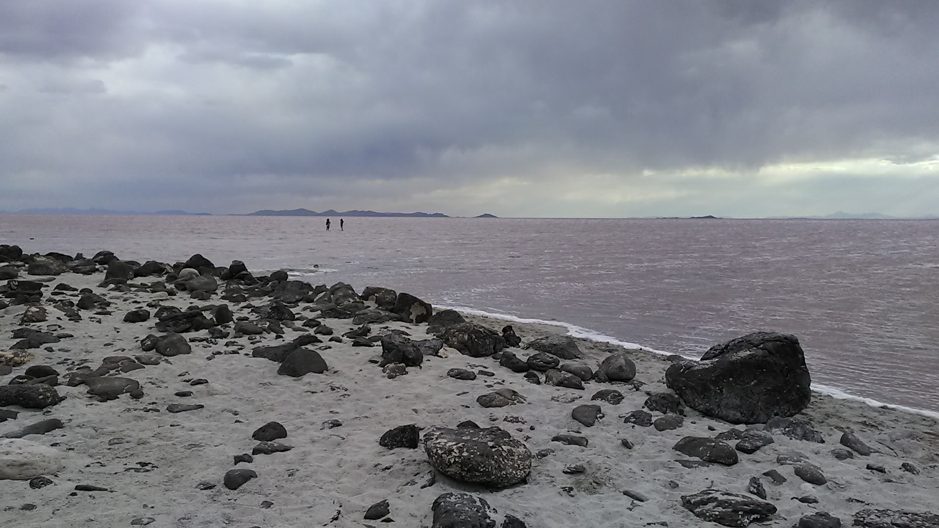 Spiral Jetty, Rozel Point, Great Salt Lake, Utah