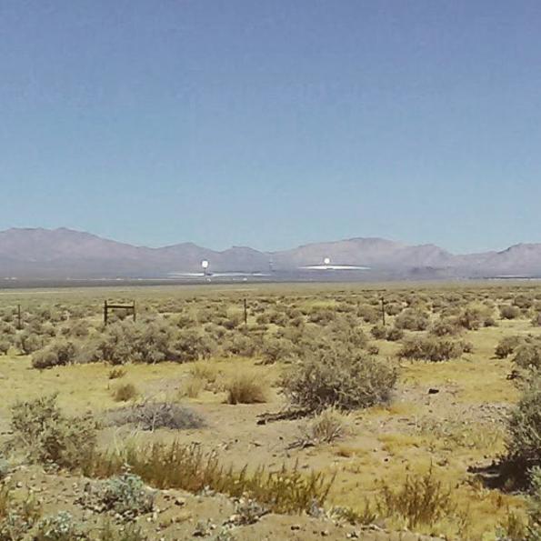 Ivanpah Solar Electric, Nevada