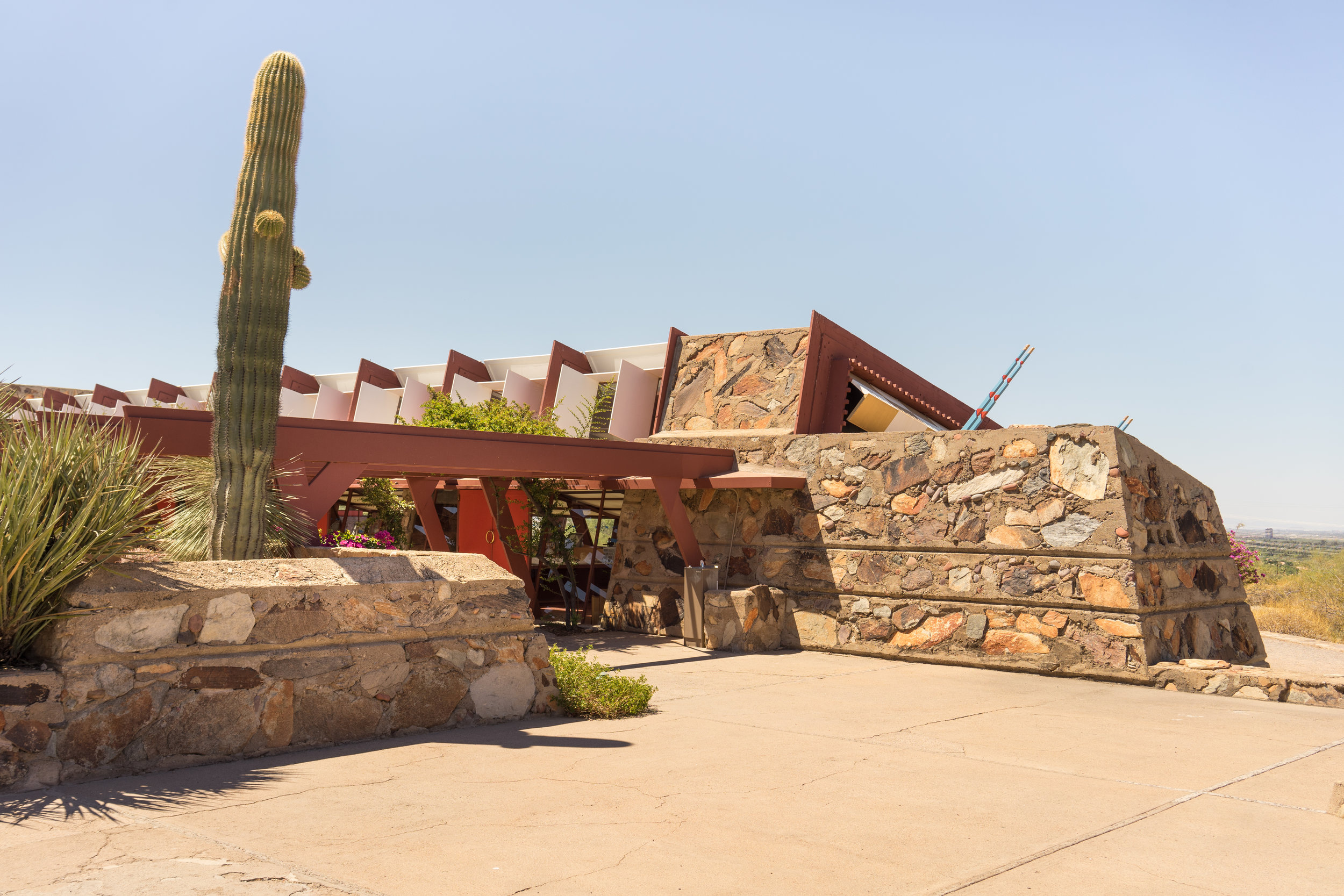 Taliesin West, Frank Lloyd Wright. Scottsdale, Arizona. Photo: Tiago Silva Nunes