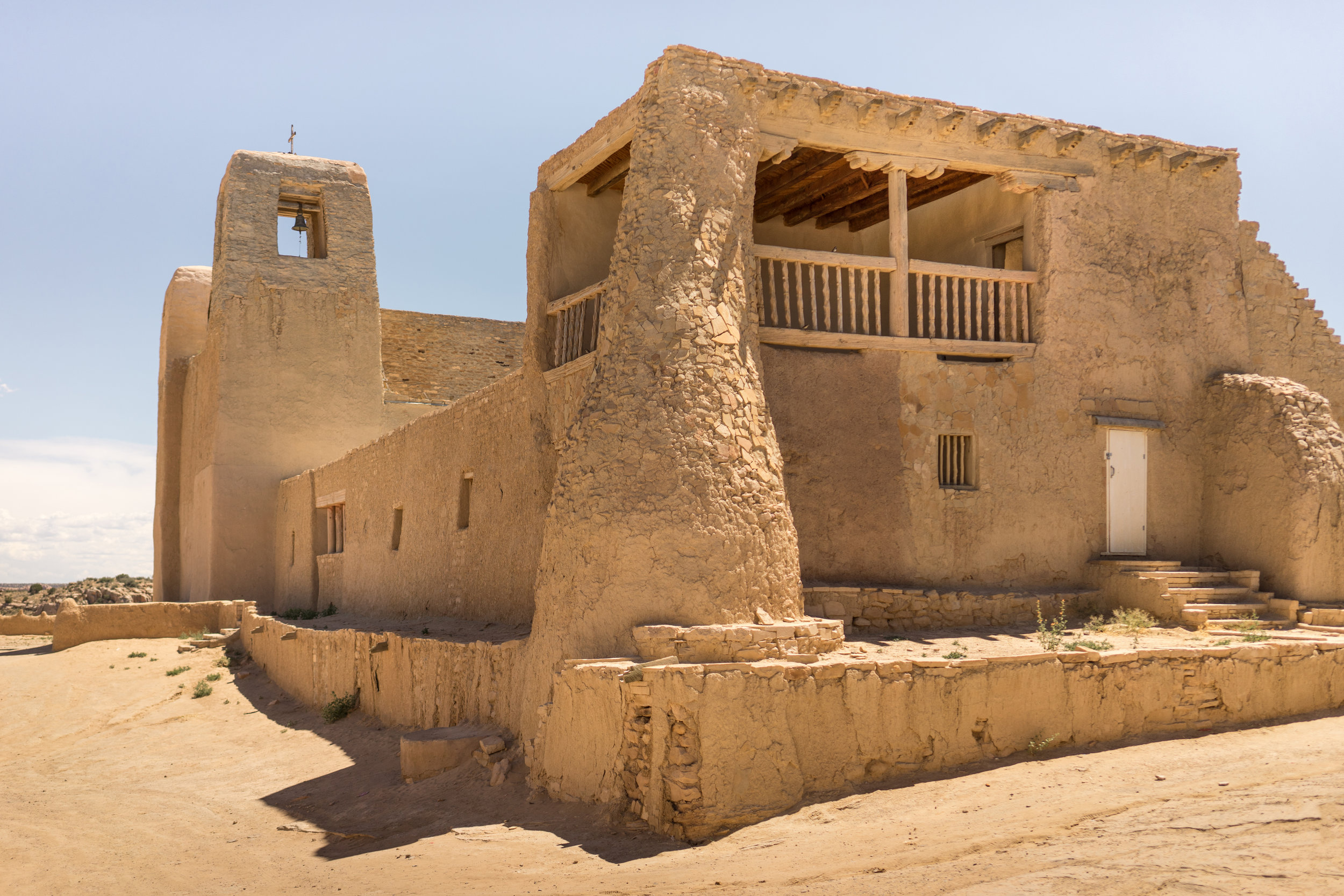 San Esteban del Rey, Acoma Pueblo, New Mexico. Photo: Tiago Silva Nunes