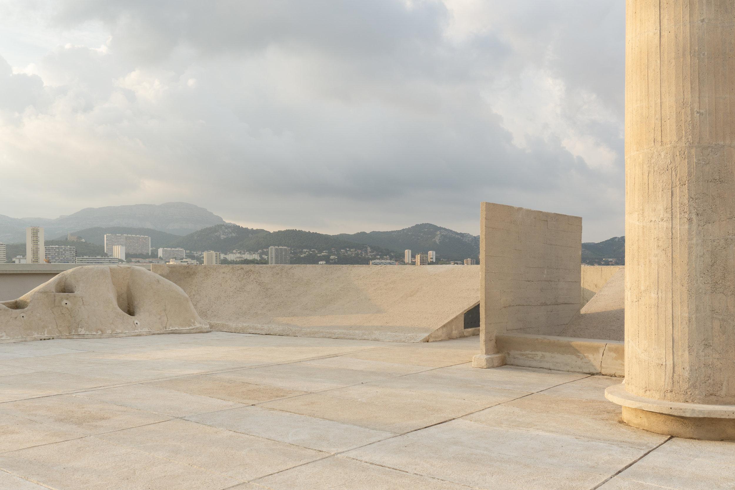 Unité d'Habitation de Marseille, Le Corbusier.