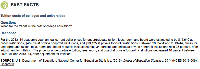 NCES   (National Center for Education Statistics)