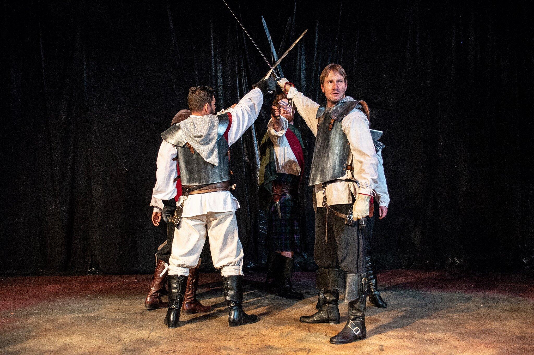 King Henry IV, Part !, International Shakespeare Center Santa Fe, 2019. Photo by John Tollet