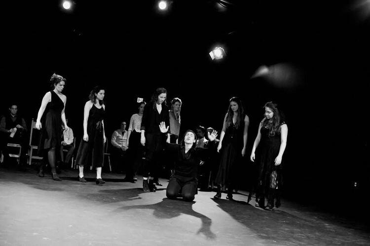 Dames of Thrones, Ducdame Ensemble/ISC, 2016. Photo by Lynn Roylance