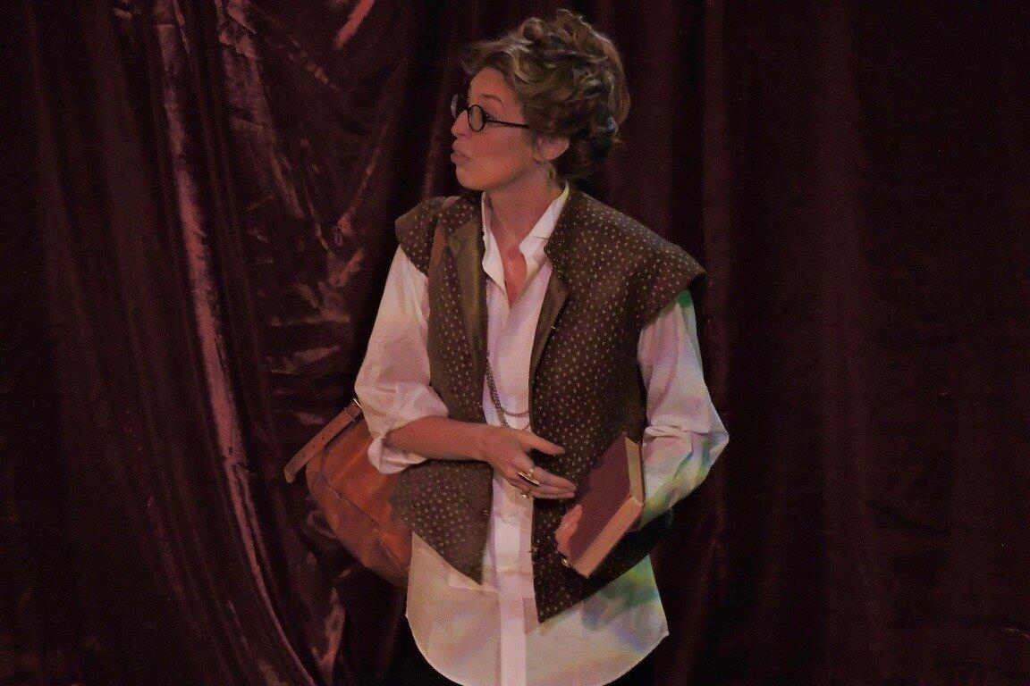 Duke Vincentio in Measure for Measure, International Shakespeare Center, 2019. Photo by Katrin Talbot