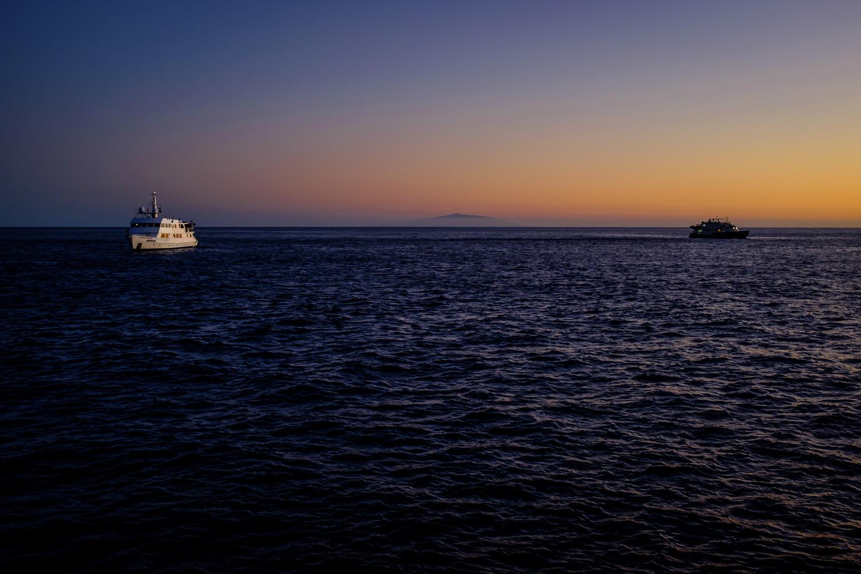 Socorro Island as seen from San Benedicto Island,Revillagigedos Archipelago, Mexico