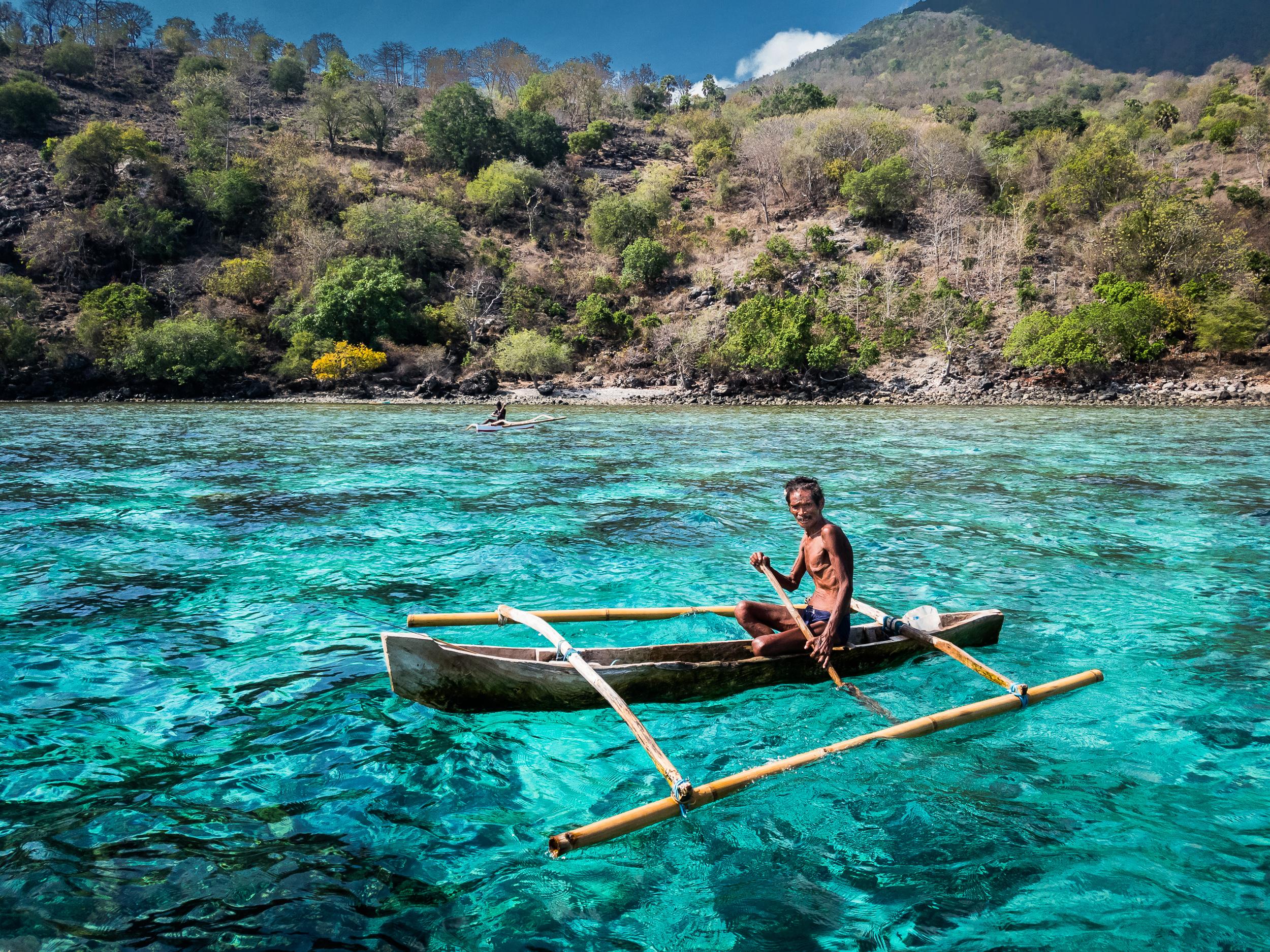 Fisherman, Alor, Indonesia