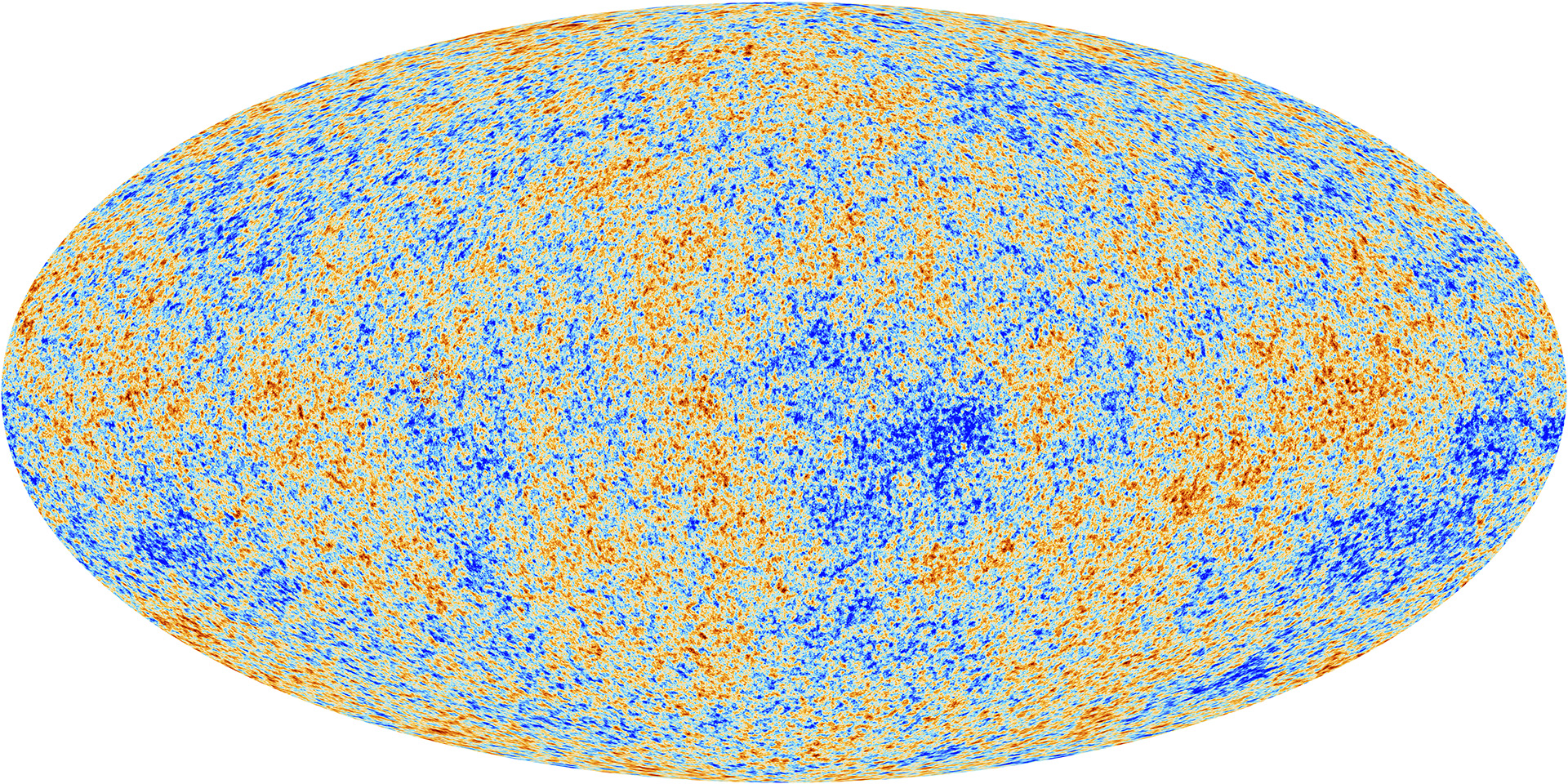The anisotropies of the Cosmic microwave background (CMB) as observed by Planck. The CMB is a snapshot of the oldest light in our Universe, imprinted on the sky when the Universe was just 380,000 years old. Image credit: ESA/Planck Collaboration, CC BY SA IGO