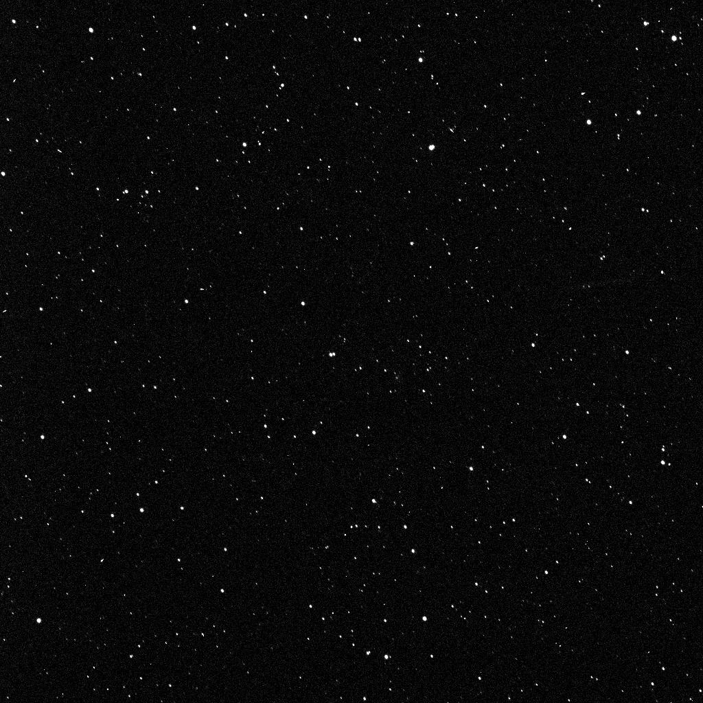 This image of a star field demonstrated that the framing cameras on board NASA's Dawn spacecraft were functioning flawlessly. They were obtained on March 16, 2011.  Image credit: NASA/JPL-Caltech/UCLA/MPS/DLR/IDA