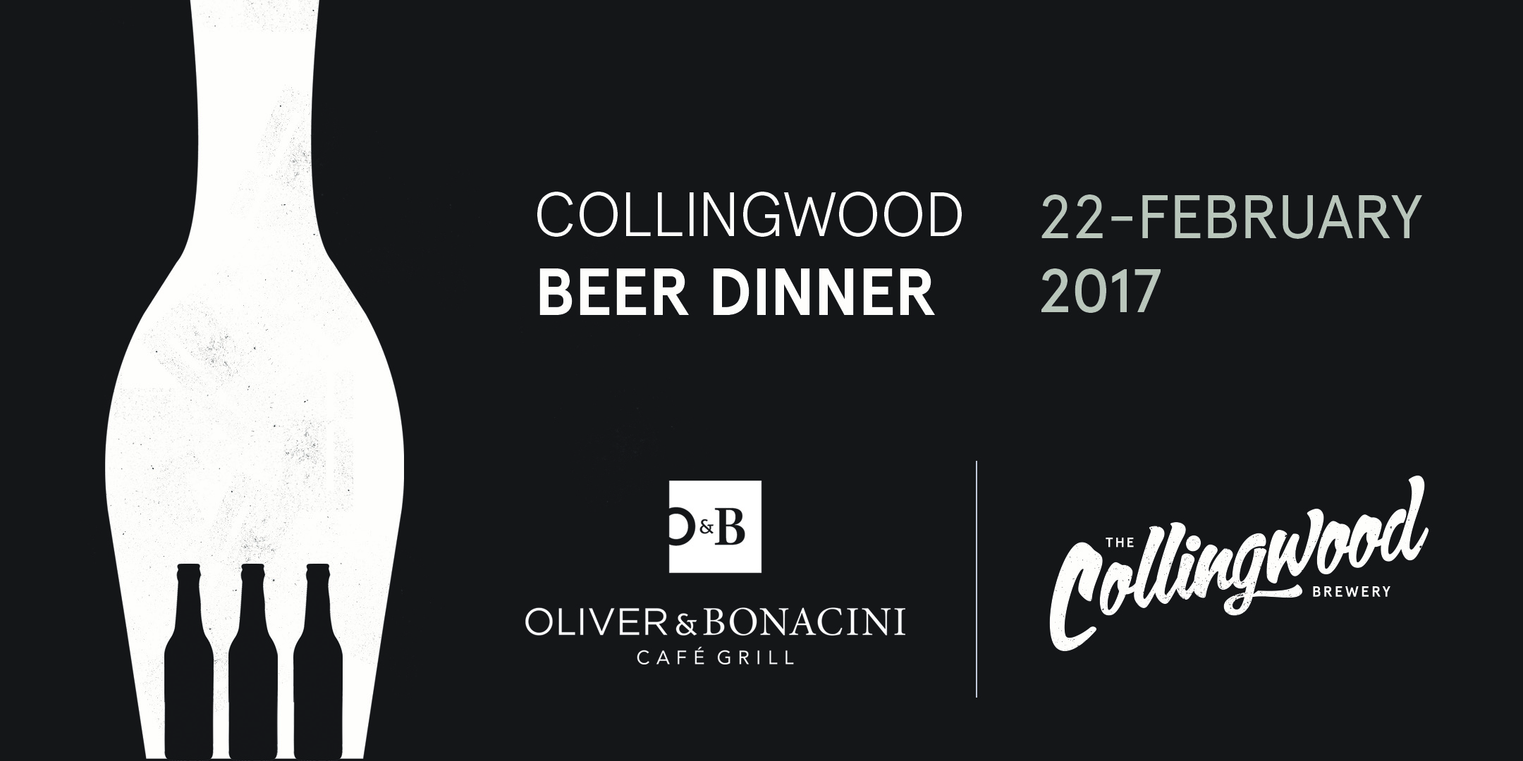 Wednesday, February 22, 2017. 6:30pm.The Collingwood Brewery