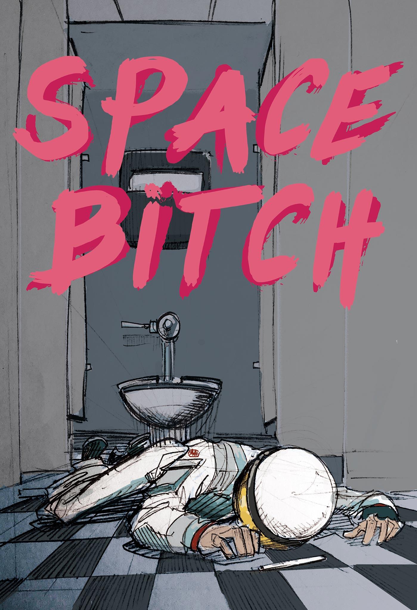 space bitch - short film - concept art / art direction + illustration