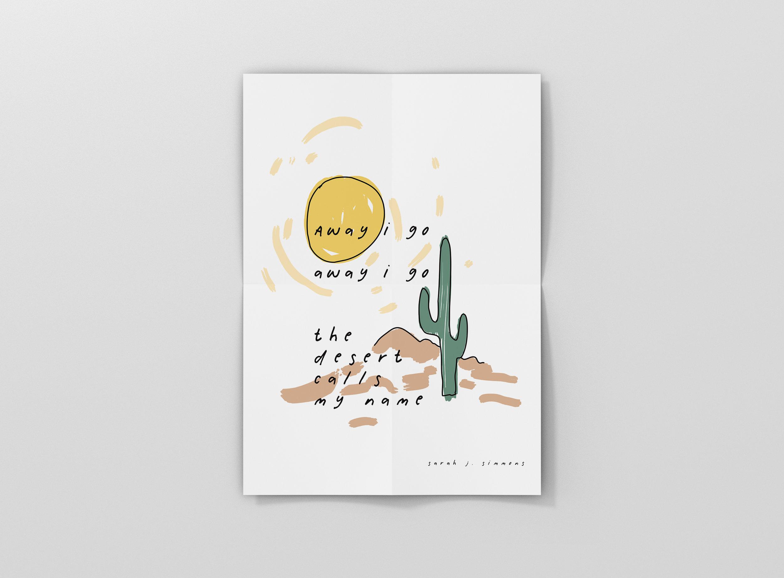 Little saint southwest / illustration + design