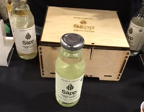 Birch water from Sapp - has the lowest sugar for tree waters, compared to maple and coconut. Or so I'm told.