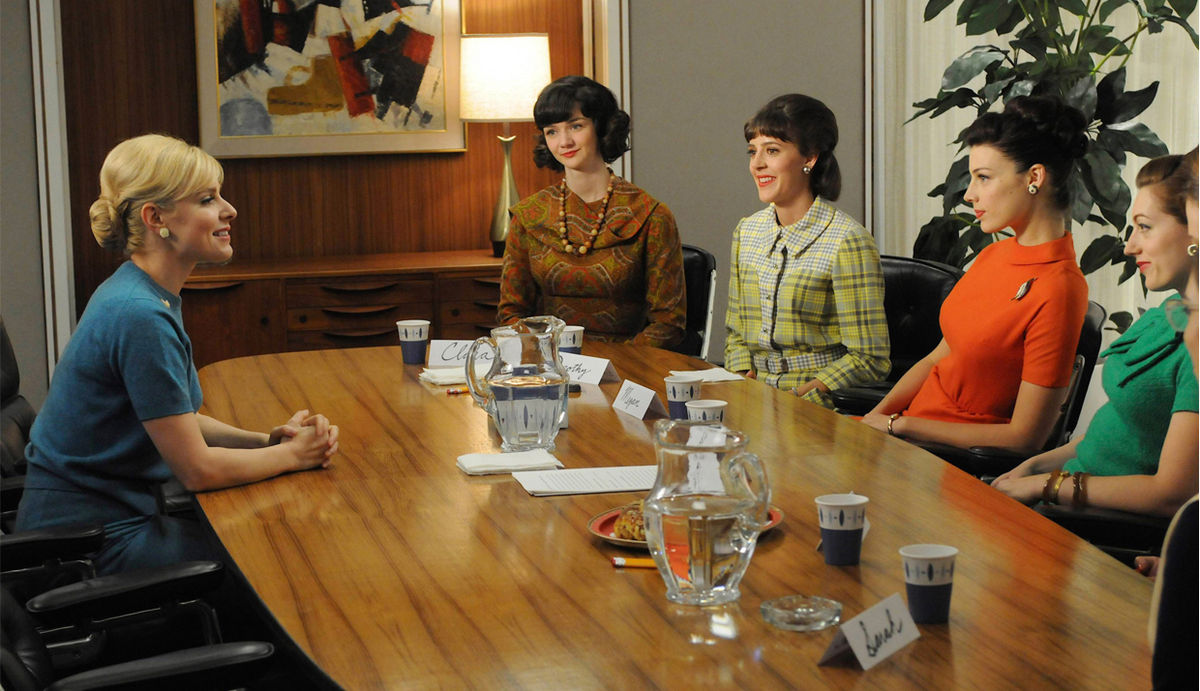 Focus group scene from  Mad Men