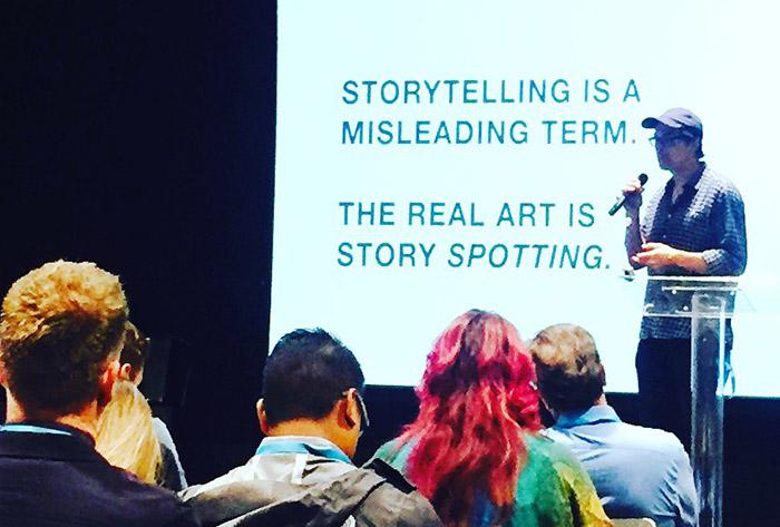 Neil Stevenson of IDEO - perfect storytelling through example