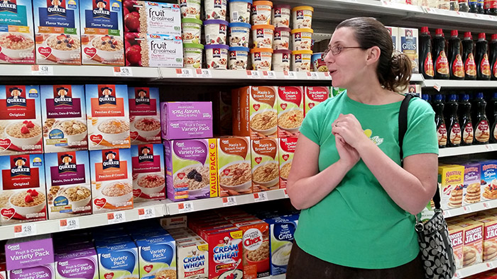 We know shoppers look at products on-shelf for only a few seconds before they make their purchase decisions.