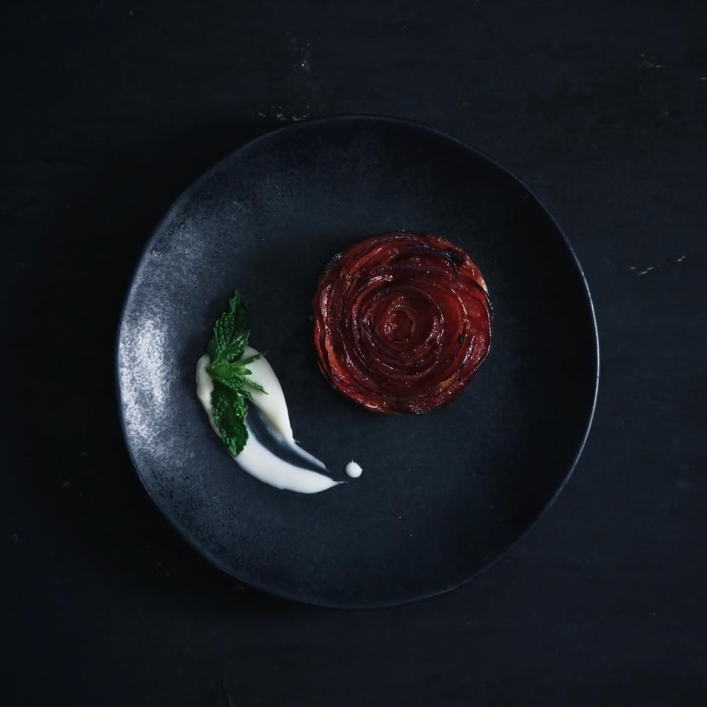 PLUM ROSE TARTS | FOOD  September 2015