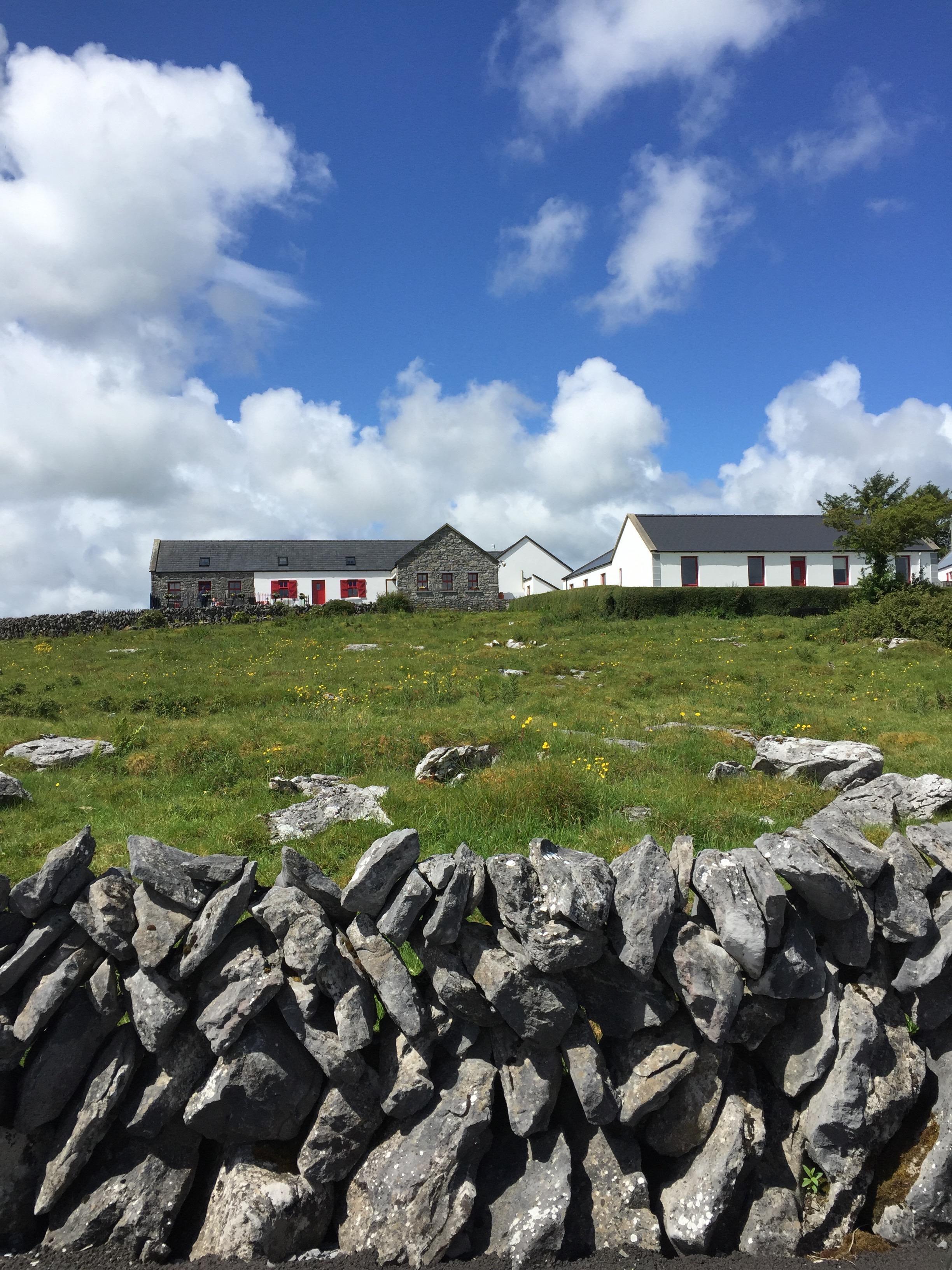 The Burren area