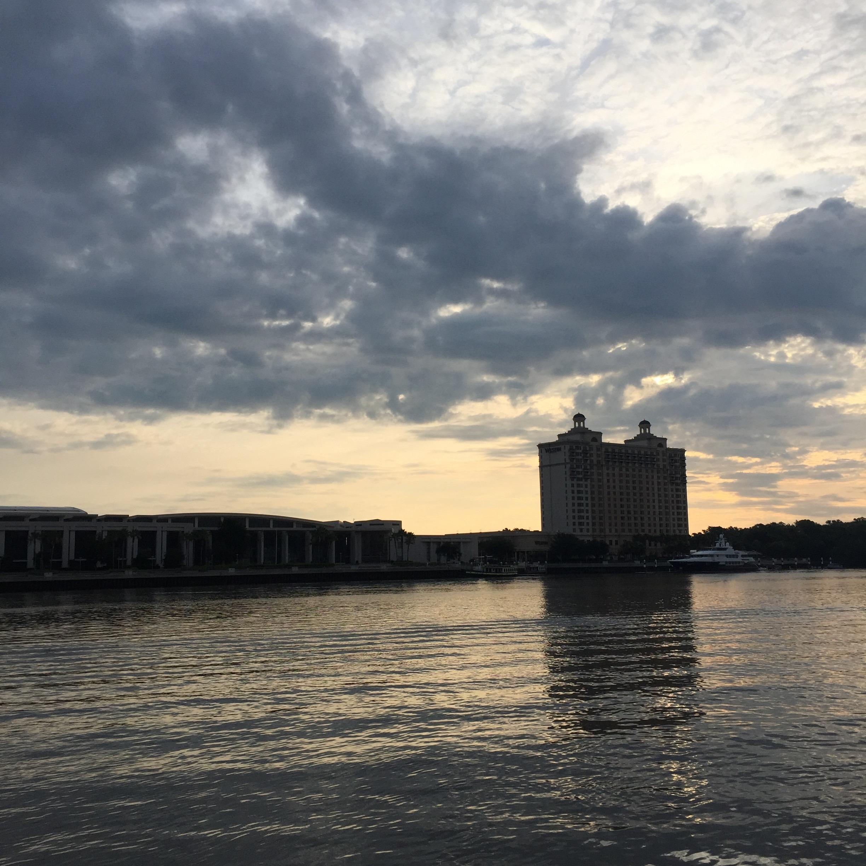 Savannah River, early morning.