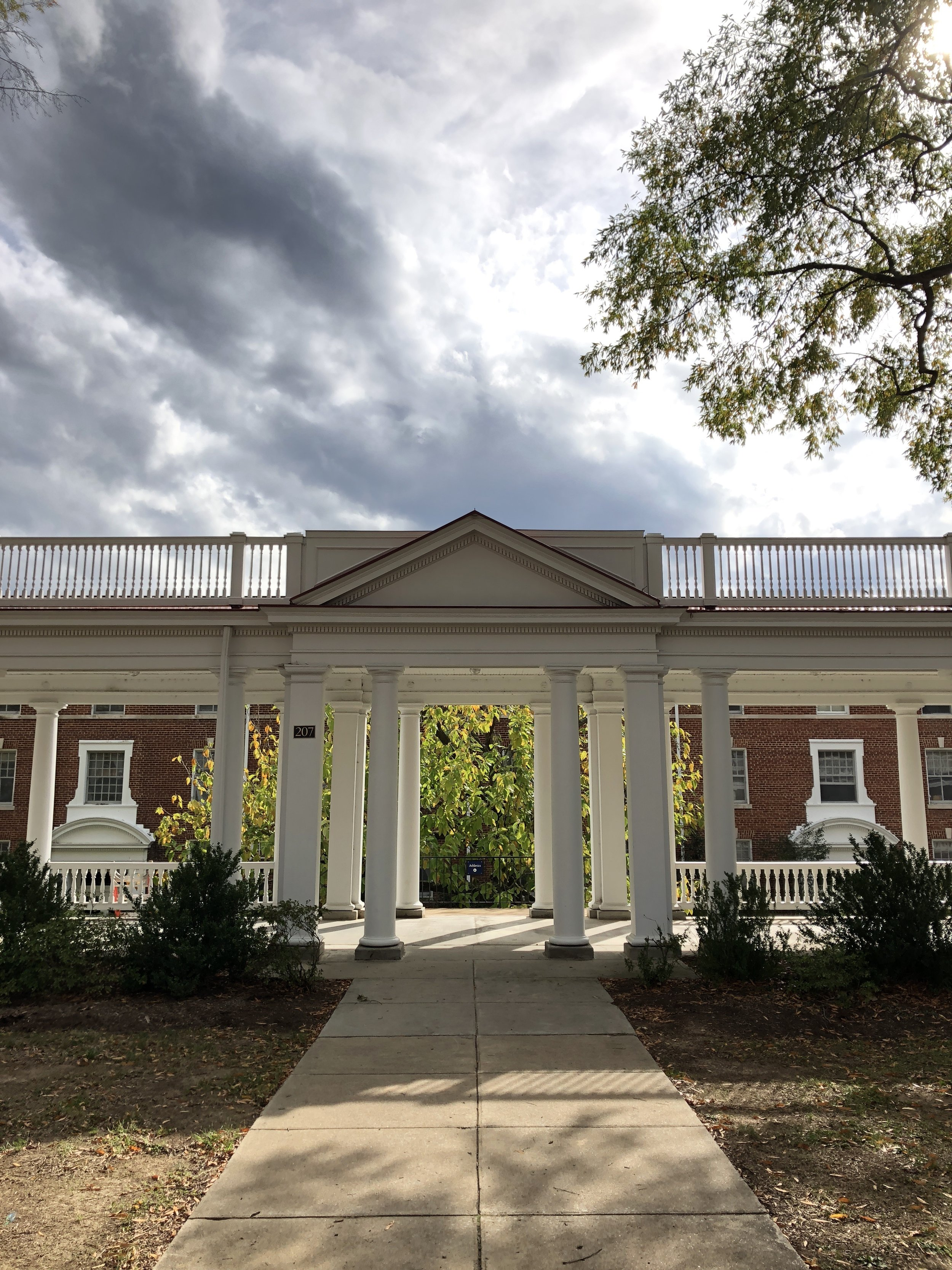 Longwood University. This looks like a portal to another world.