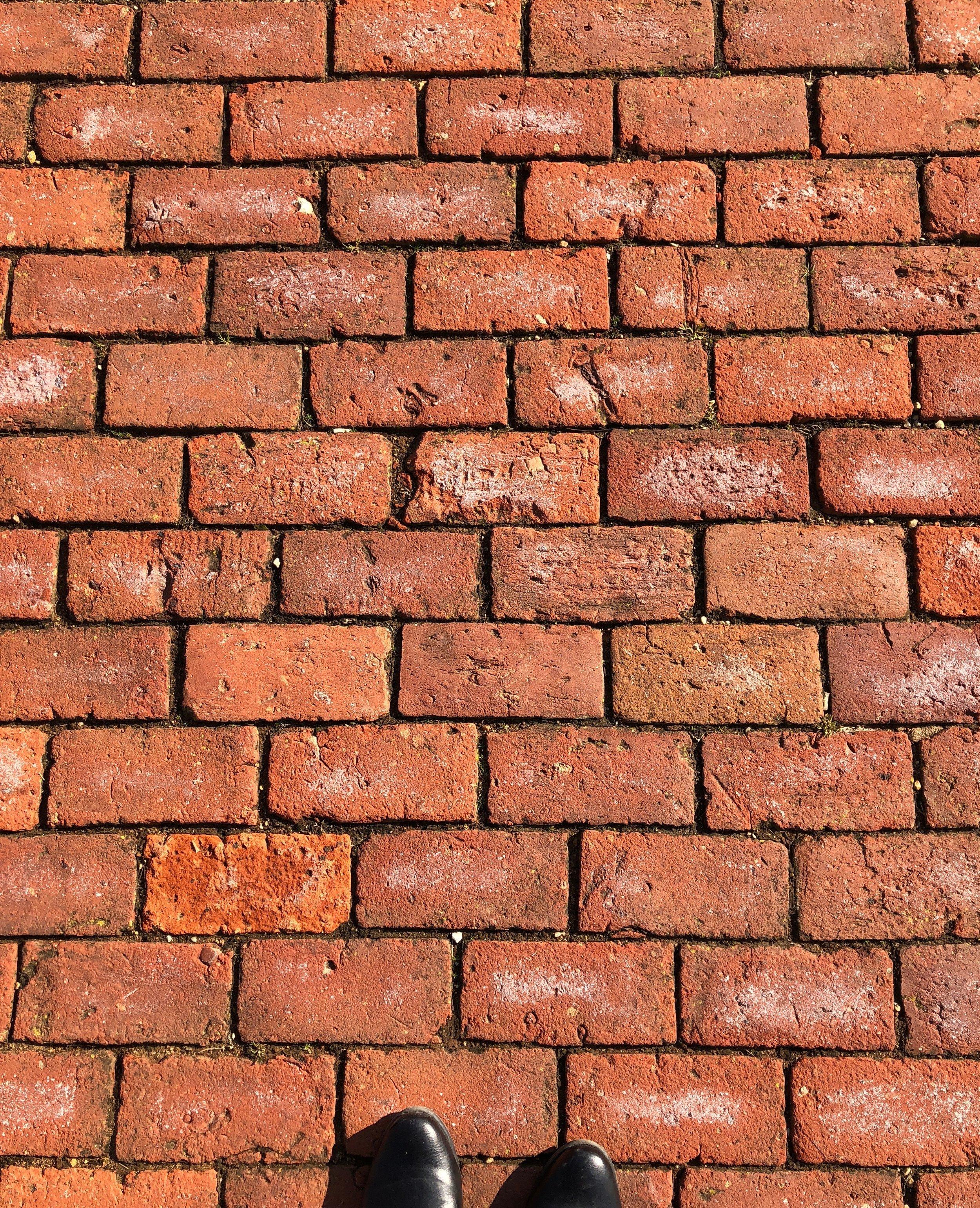 Brick pavers, Virginia