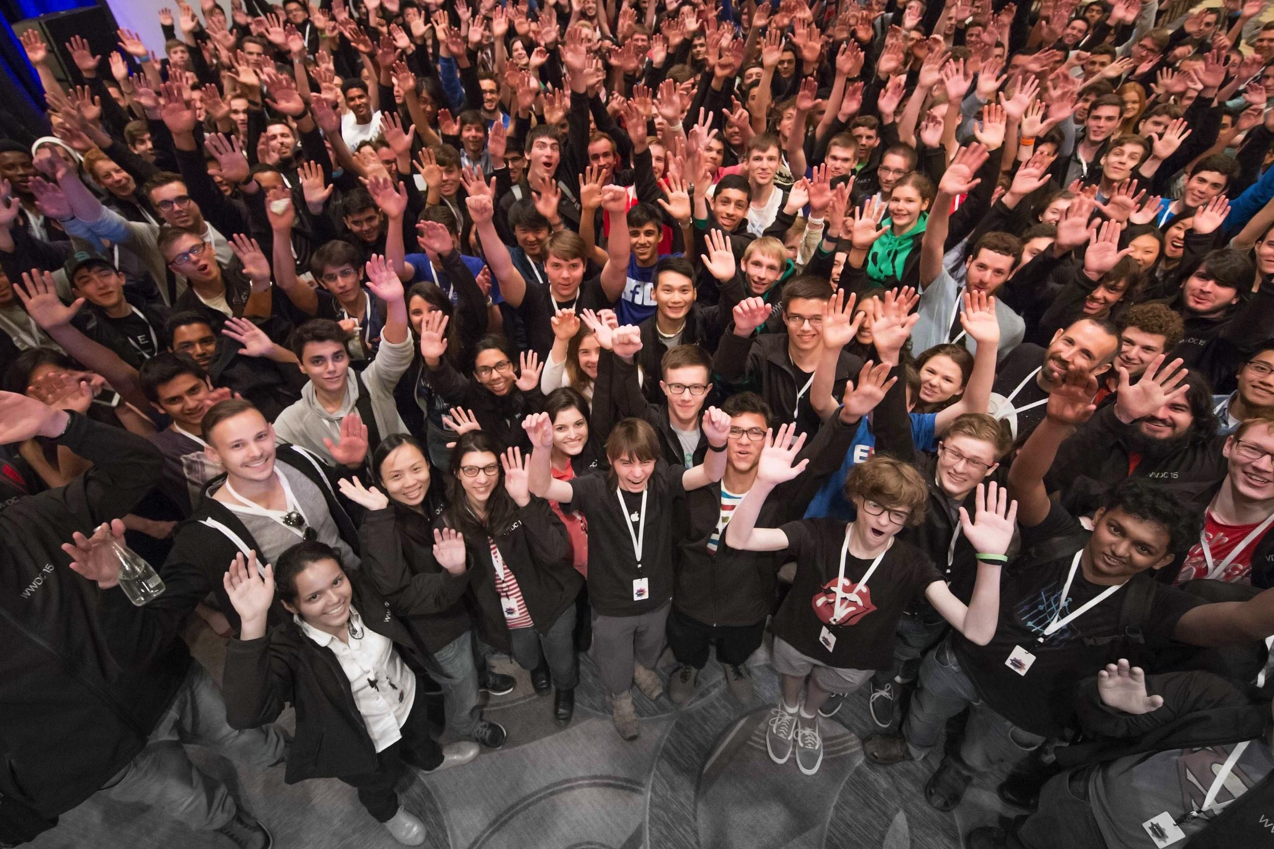 WWDC 2015 Scholarship Winners ( http://developer.apple.com )