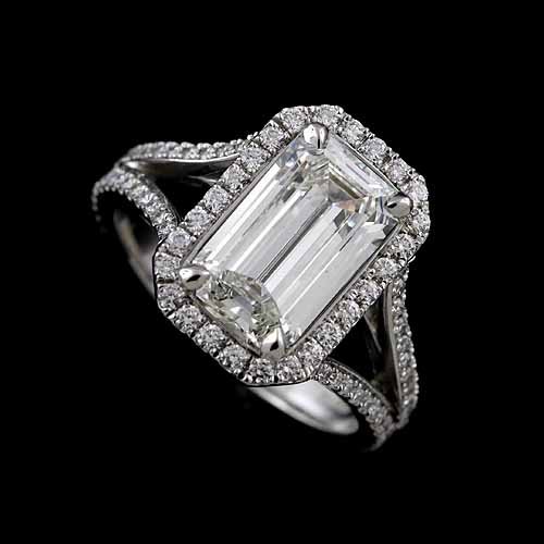 Emerald+Shahe+Cut+Down+Micropave+Diamond+Split+Shank+Modern+Halo+Engagemen+Ring+Mountin+Setting+1.jpg