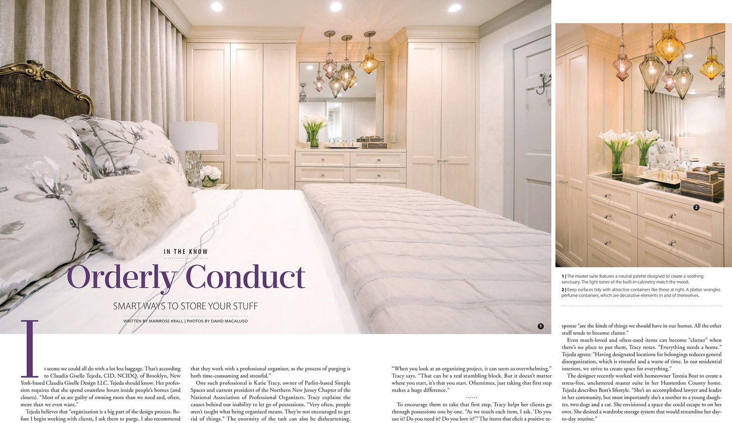 Orderly Conduct Claudia Giselle Design Llc
