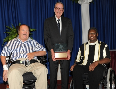 "Dr. Woolsey received the PVA Speedy Award in 2009, which is given as ""the highest honor bestowed by the Paralyzed Veterans of America and is presented in recognition of significant contributions to improving the lives of America's paralyzed veterans."""