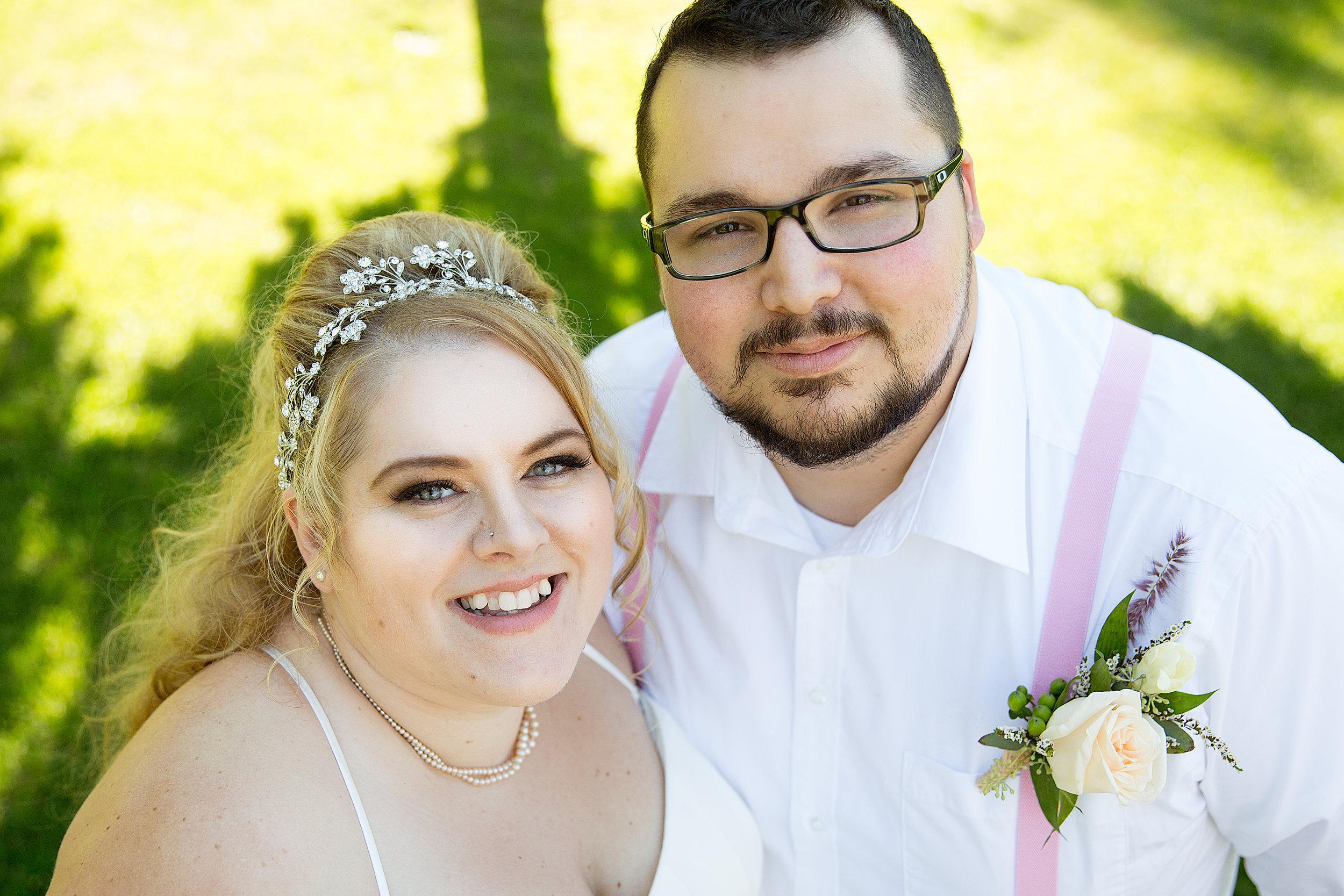 Jay & Alea Falkus Wedding in Vernon British Columbia Canada.
