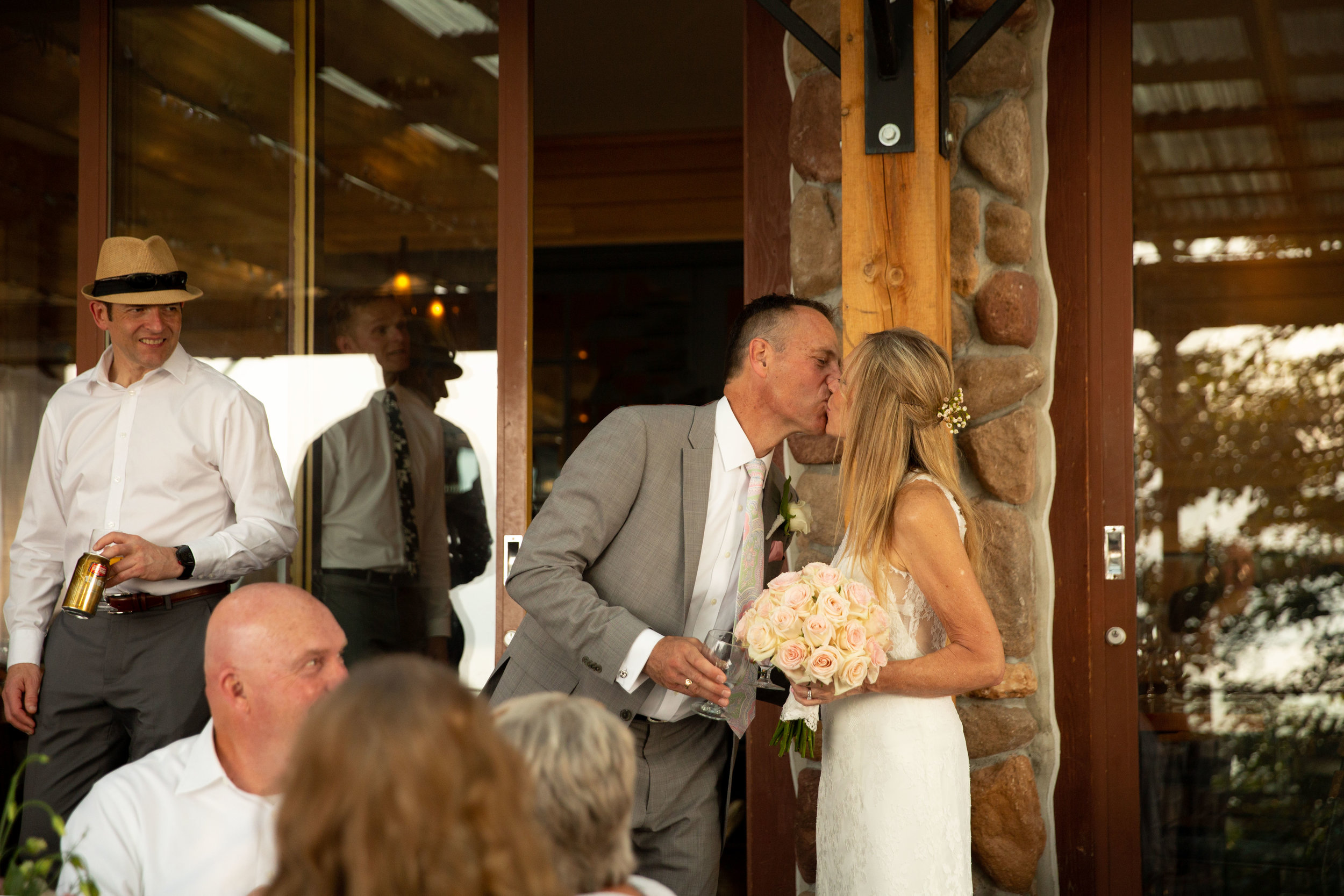 Heather and Grant wedding at Summerhill Winery