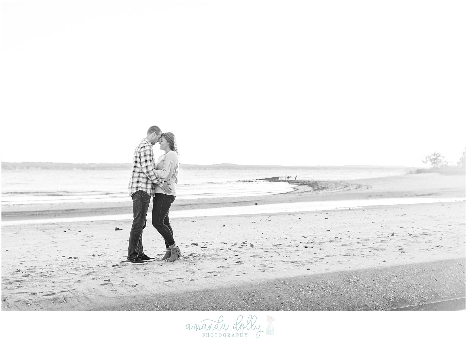 Sandy Hook Engagment Photography