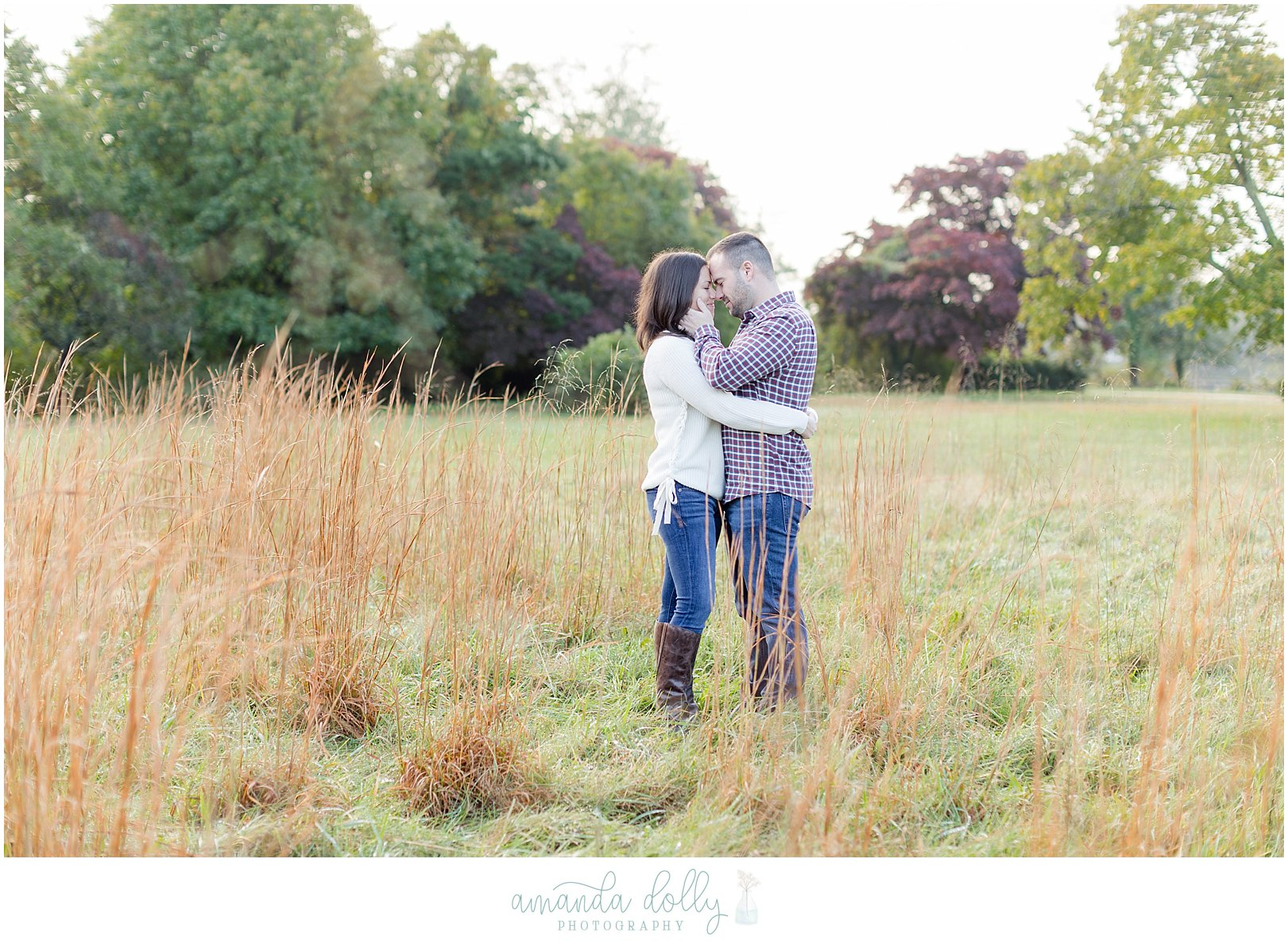Hartshorne Park Engagement Session