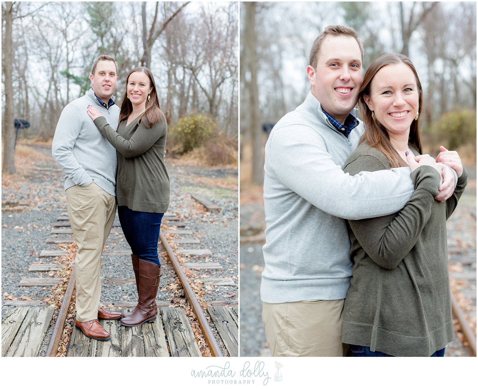 Allaire State Park Engagement Photography