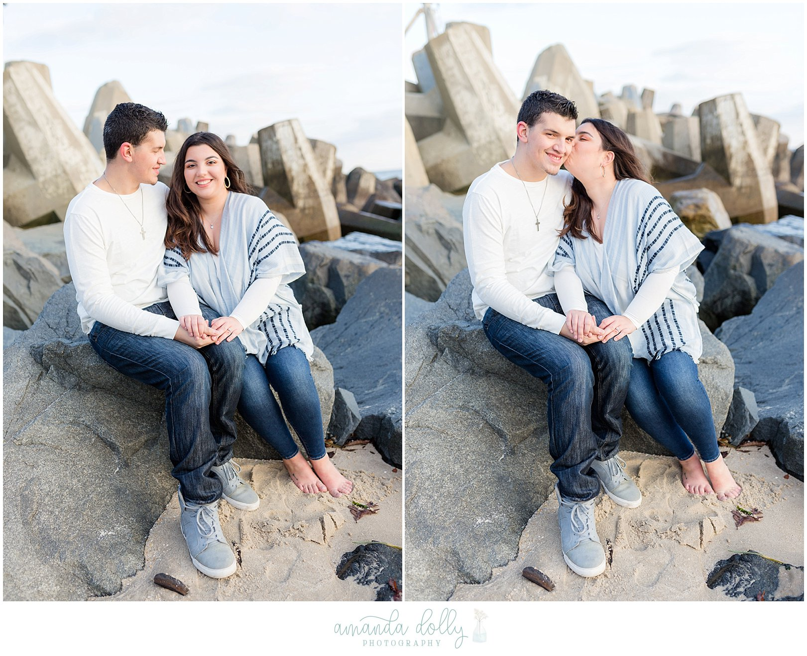 Point Pleasant Engagement Photography