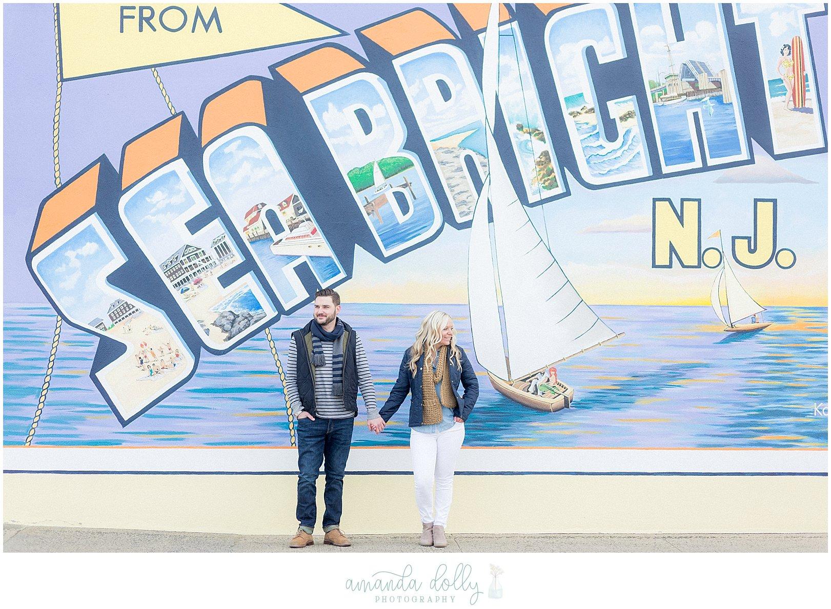 Sea Bright NJ Engagement Photography