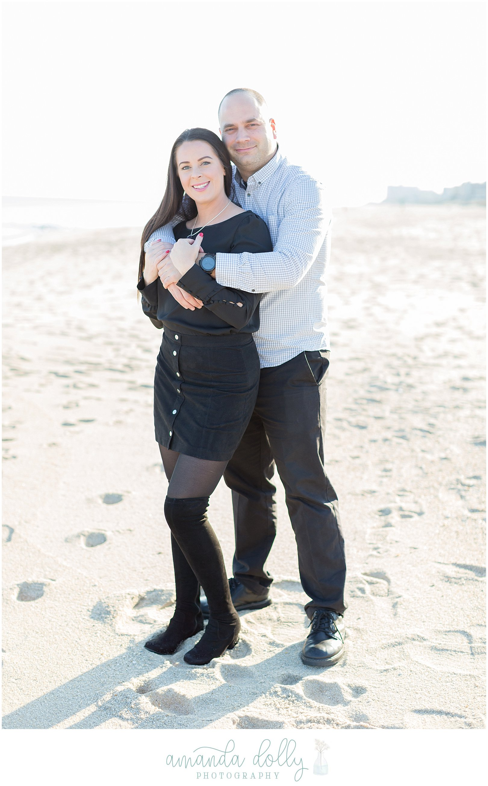 Pier Village Engagement Photography