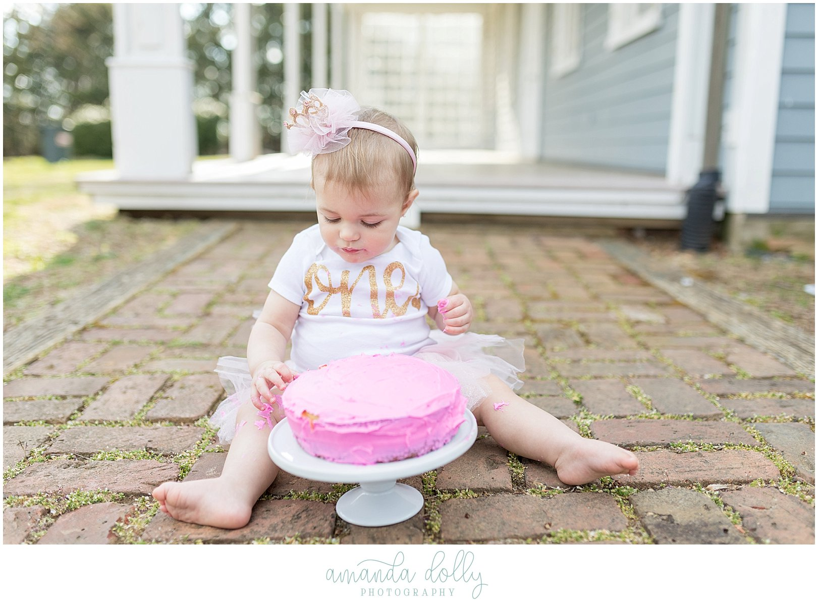 1st Birthday Cake Smash Photography