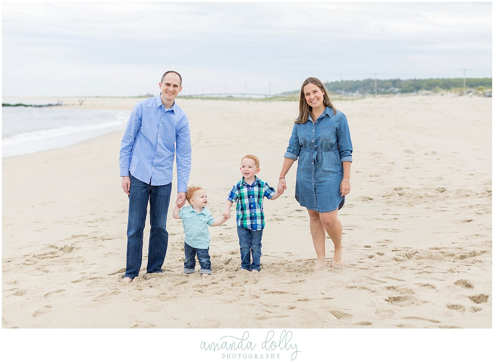 Sandy Hook Beach Family Photography
