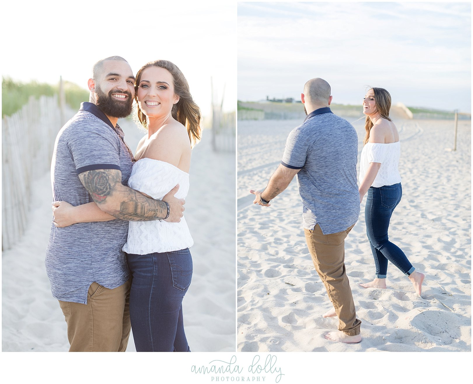 Seaside Park Engagement Session