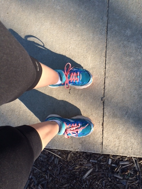 Thank you, Size 5 Feet, for getting me to my goal:60,000 steps in one day!